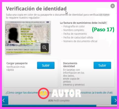 verificacion de indentidad