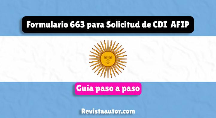 Solicitud de Clave de Identificación - CDI