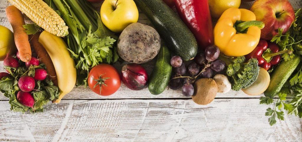 verduras del plato del buen comer