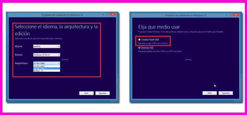 proceso de activación de windows 10