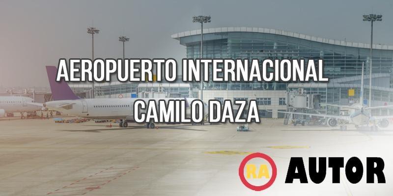 informacion del aeropuerto camilo daza