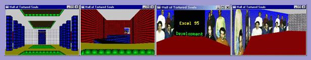 juego Doom para Microsoft Excel 95