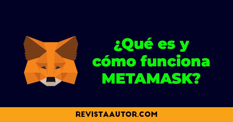 crear cuenta en metamask