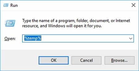 eliminar archivos temporales